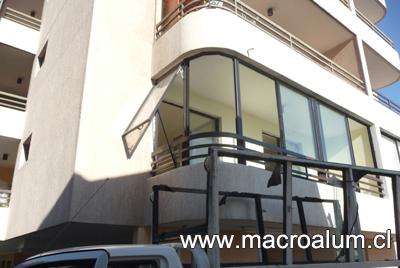Cierre de terrazas y balcones macroalum fono 22551 7550 - Cierres de aluminio para terrazas ...